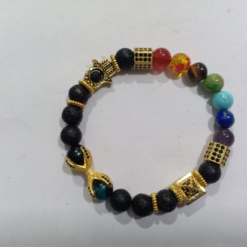 7 Chakra balancing yantra bracelet